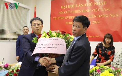 Đại hội thành lập Hội Cựu chiến binh Việt Nam ở tỉnh Sverdlovsk (Nga) - Ảnh 1.
