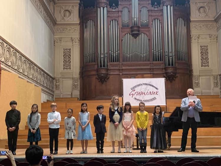 Việt Nam đoạt Giải Nhất cuộc thi âm nhạc quốc tế tại Bỉ