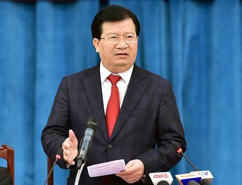 Phó Thủ tướng Trịnh Đình Dũng yêu cầu đẩy nhanh tiến độ giải phóng mặt bằng dự án cao tốc tuyến Bắc - Nam phía Đông - Ảnh 1.