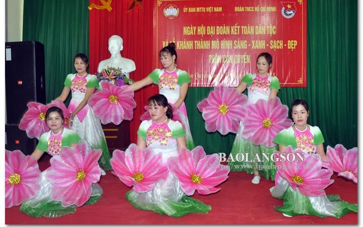 Lạng Sơn: Phát huy hiệu quả các thiết chế văn hóa cơ sở