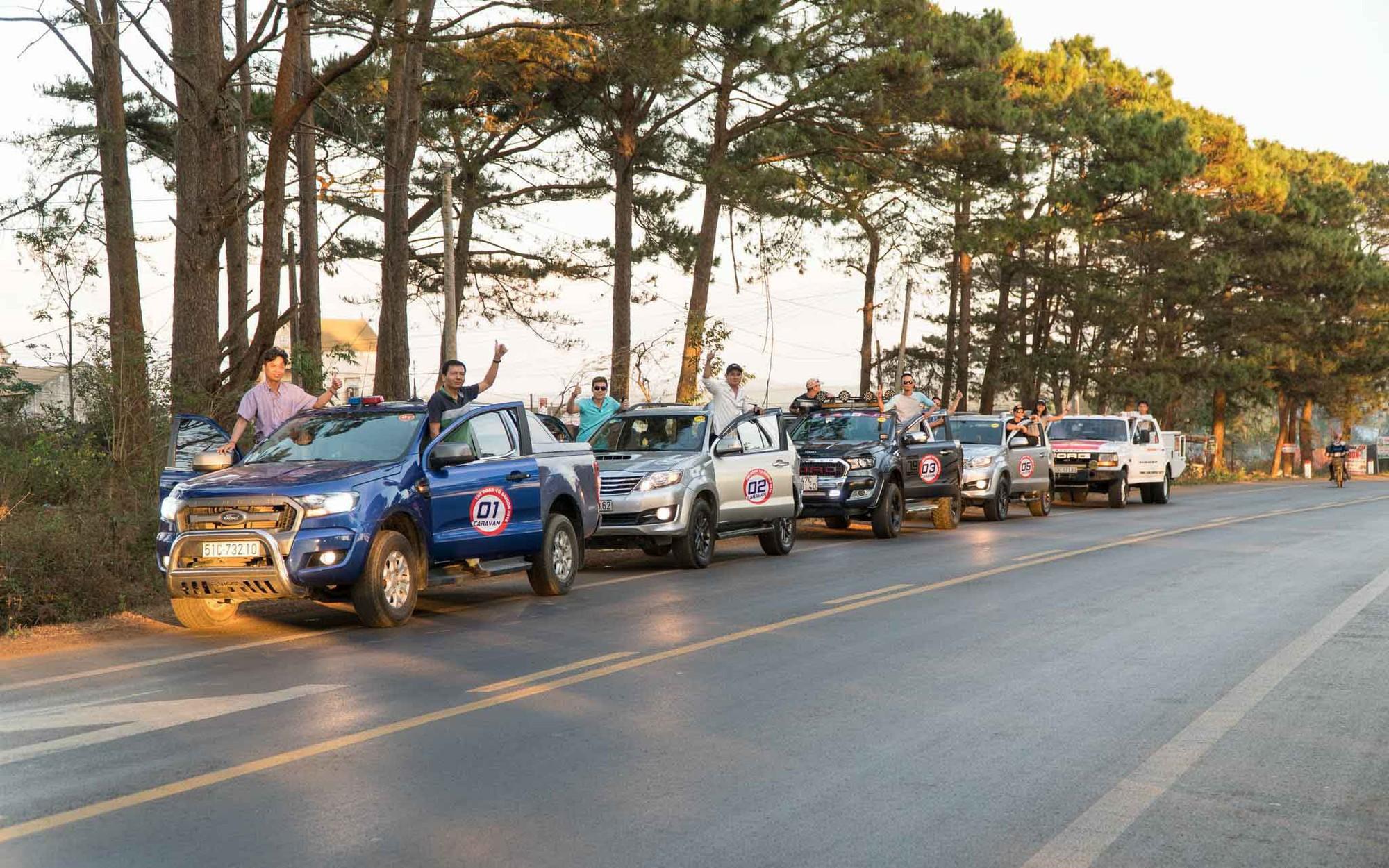 Caravan diễu hành xe vì sự phát triển du lịch bền vững Campuchia – Thái Lan – Việt Nam