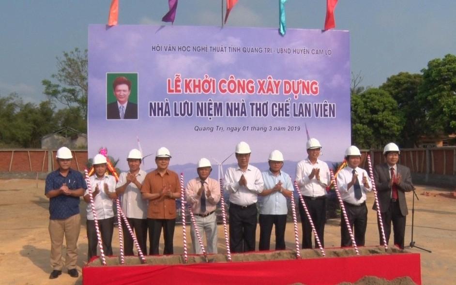 Quảng Trị sẽ có không gian lưu niệm nhà thơ Chế Lan Viên