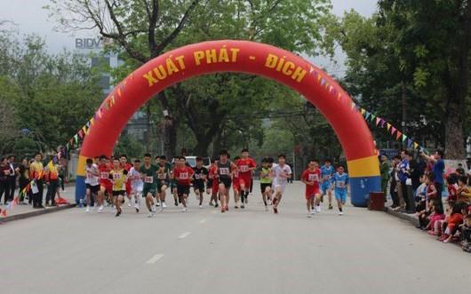 Tổ chức Giải Việt dã Tranh Cúp Báo Cao Bằng năm 2019