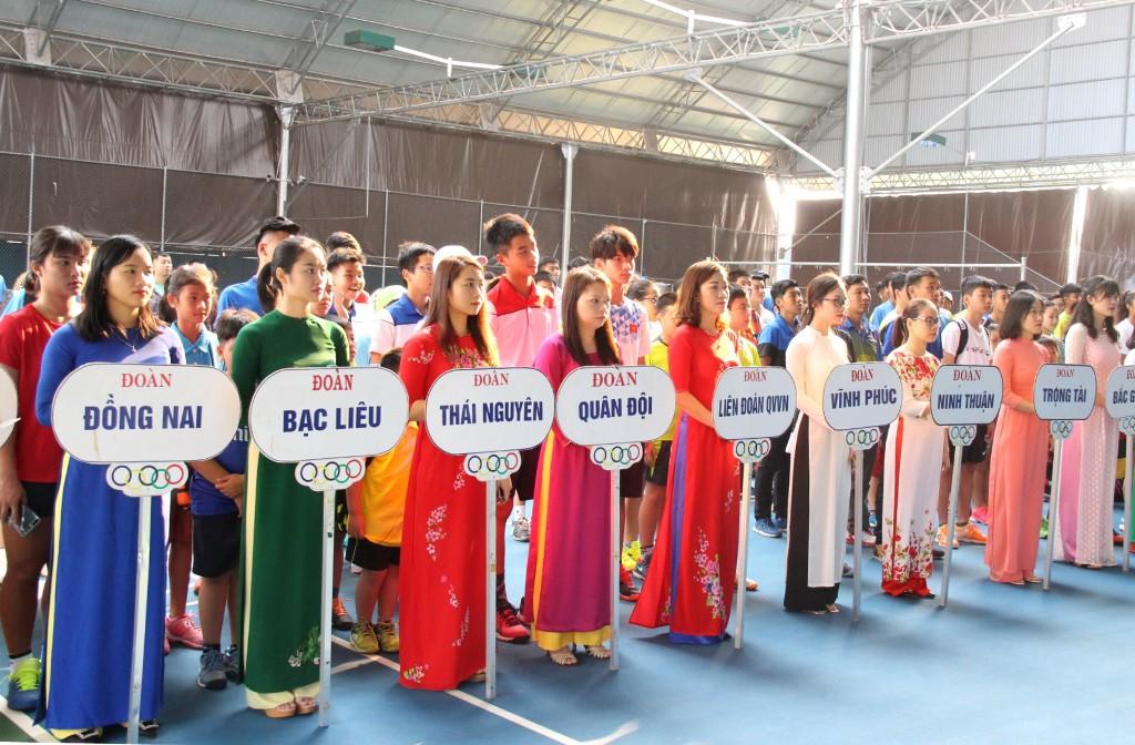 Khai mạc Giải quần vợt Vô địch năng khiếu toàn quốc năm 2019