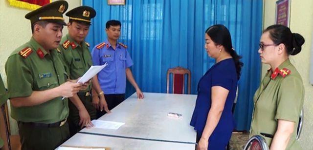 Công an tỉnh Sơn La tước danh hiệu Thiếu tá CAND do dính tới gian lận thi cử - Ảnh 1.