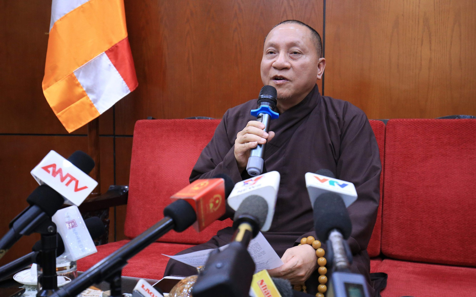Hội đồng Trị sự Giáo hội Phật giáo Việt Nam: Đề xuất tạm đình chỉ các chức vụ của trụ trì chùa Ba Vàng