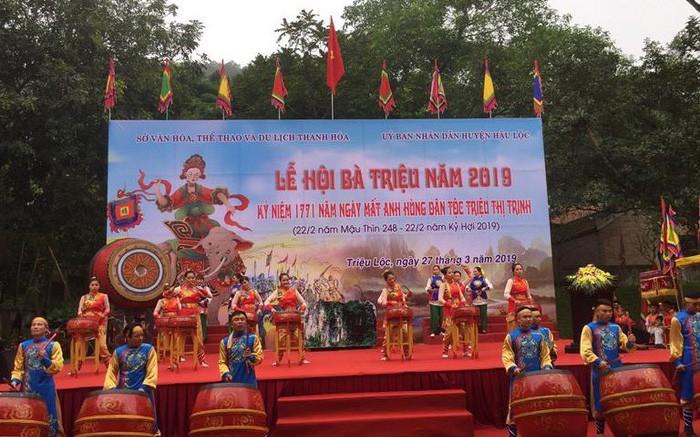 Khai hội Bà Triệu và kỷ niệm 1771 năm ngày mất của Anh hùng Triệu Thị Trinh