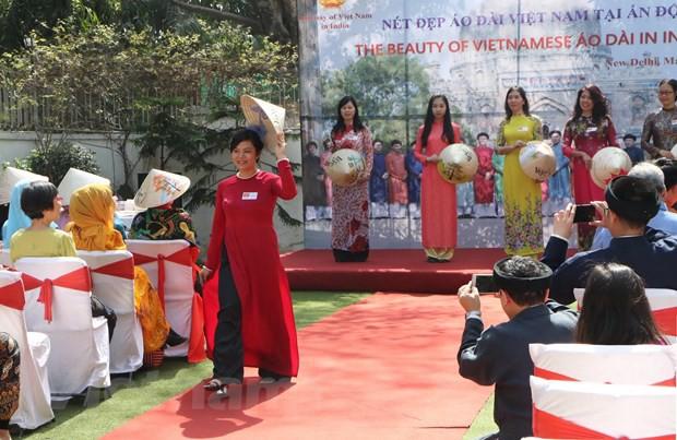 Vẻ đẹp áo dài Việt Nam gây ấn tượng mạnh với bạn bè ASEAN và Ấn Độ - Ảnh 3.
