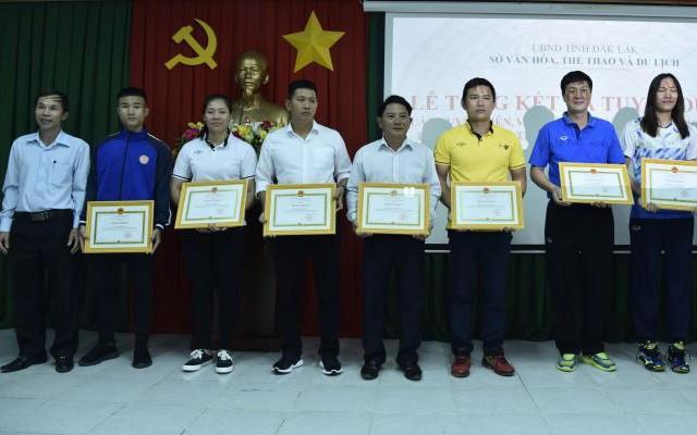 Đắk Lắk: Tuyên dương các vận động viên, huấn luyện viên tiêu biểu