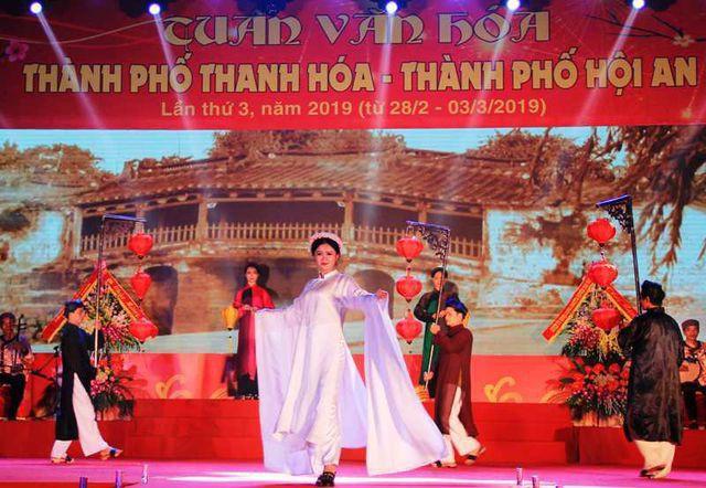 Tuần văn hóa TP Thanh Hóa - TP Hội An lần thứ III - năm 2019: Thắm tình đoàn kết - Ảnh 1.