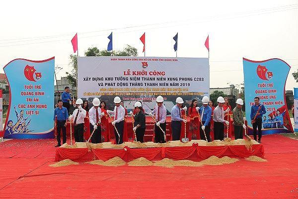 Quảng Bình: Khởi công xây dựng Khu tưởng niệm Thanh niên xung phong C283 - Ảnh 1.