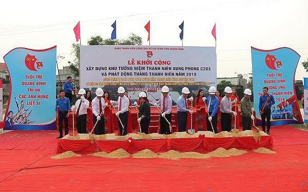 Quảng Bình: Khởi công xây dựng Khu tưởng niệm Thanh niên xung phong C283