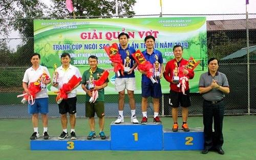Cao Bằng: Giải quần vợt tranh Cúp