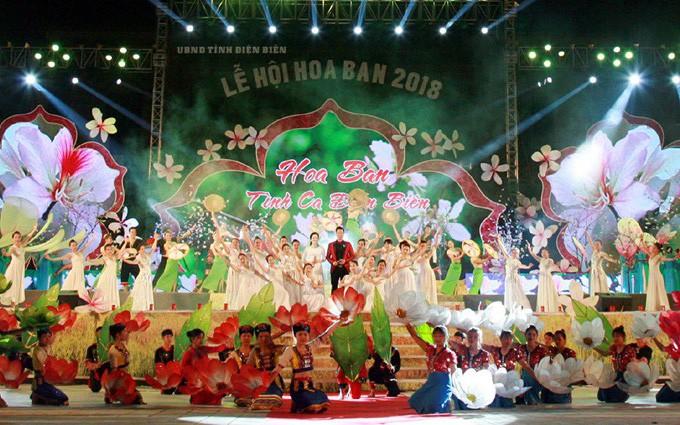 Lễ hội hoa Ban 2019: Tổ chức nhiều hoạt động mang đậm bản sắc các dân tộc tỉnh Điện Biên.