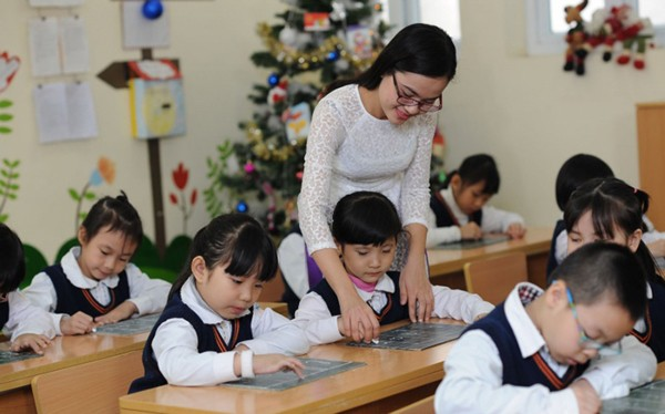 Tuyển dụng hơn 11.000 chỉ tiêu giáo viên tại Hà Nội - Ảnh 1.