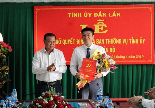 Nhân sự mới được bổ nhiệm ở Đắk Lắk và Thừa Thiên- Huế - Ảnh 1.