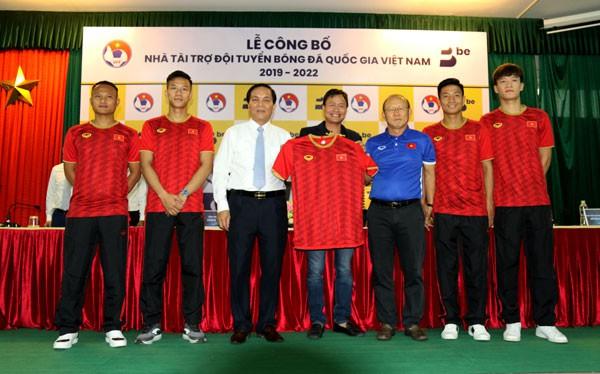 BE GROUP trở thành Nhà tài trợ ĐTQG Việt Nam trong 3 năm liên tiếp - Ảnh 1.