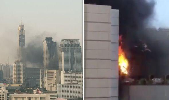 Tình hình công dân Việt trong vụ cháy CentralWorld Thái Lan - Ảnh 1.