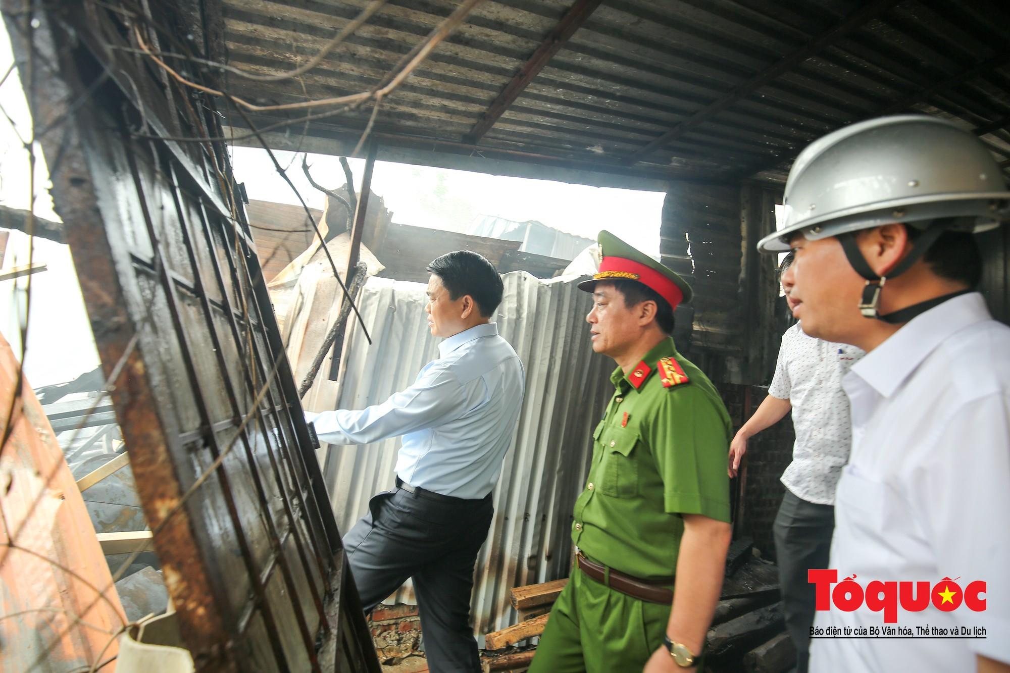 Cận cảnh hiện trường vụ Cháy thảm khốc ở Trung Văn, 8 người chết và mất tích - Ảnh 7.