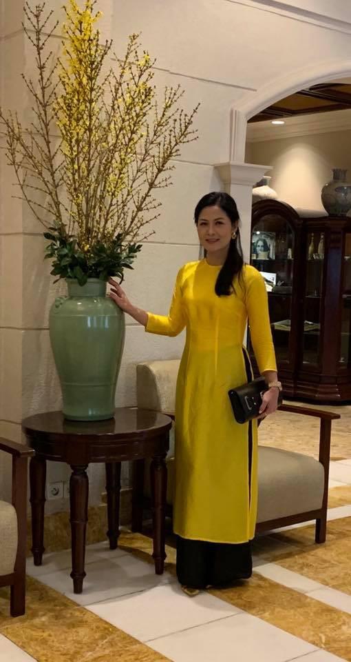 Nhan sắc xinh đẹp của vợ NSƯT Trung Anh - Ảnh 1.