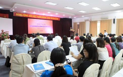 Hội nghị tập huấn công tác gia đình năm 2019