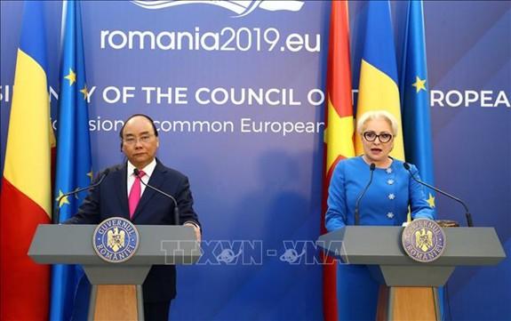 Romania ủng hộ việc sớm ký kết, phê chuẩn EVFTA và IPA - Ảnh 1.