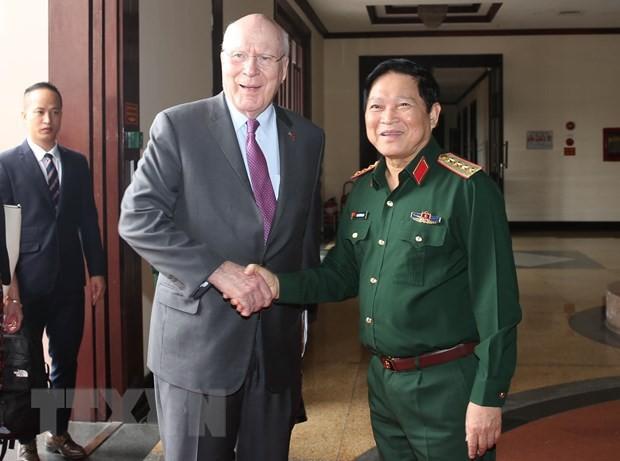 Bộ trưởng Quốc phòng: Hợp tác quốc phòng giữa hai nước Việt Nam- Hoa Kỳ ngày càng phát triển  - Ảnh 1.