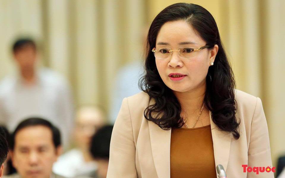 Thứ trưởng Trịnh Thị Thủy mong các cơ quan truyền thông tiếp tục tuyên truyền các giá trị văn hóa truyền thống tốt đẹp