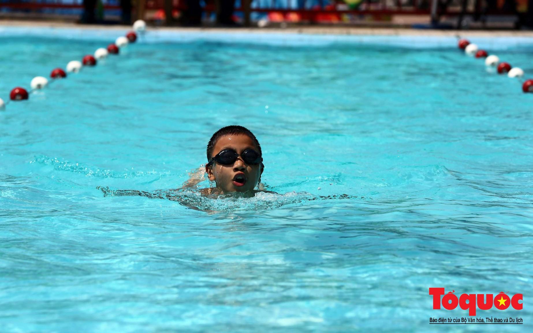 Tổ chức Giải Bơi cứu đuối học sinh, Thanh thiếu nhi toàn quốc