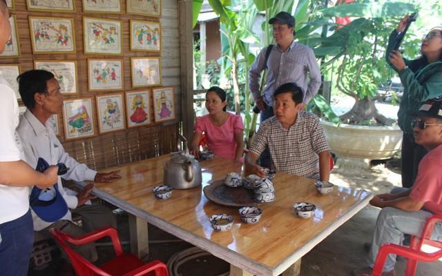 Công nhận điểm du lịch Làng nghề truyền thống Hoa giấy Thanh Tiên - Tranh dân gian làng Sình