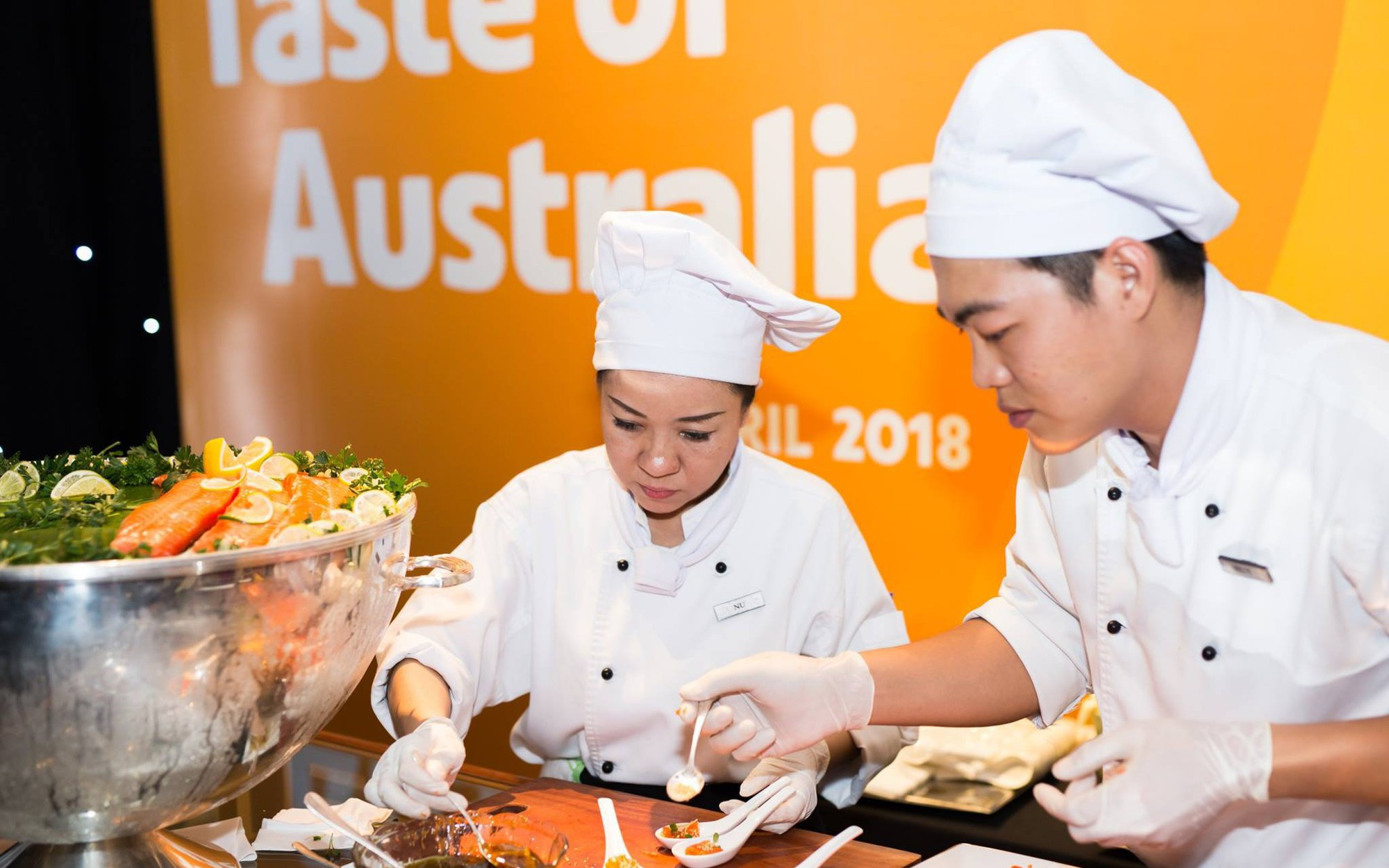Thưởng thức hương vị nước Úc tại Việt Nam
