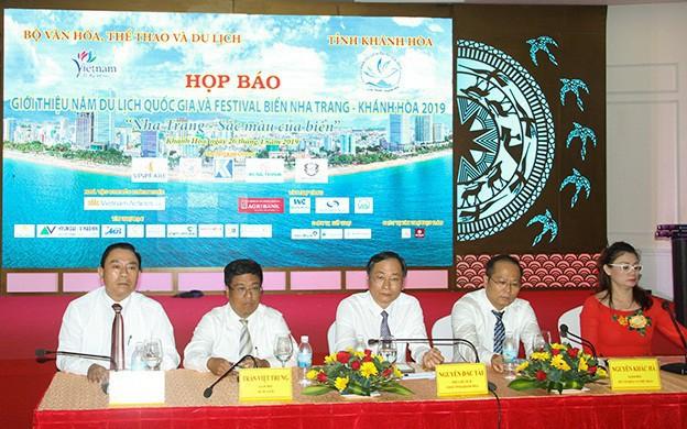 Họp báo thông tin về Năm Du lịch Quốc gia và Festival Biển Nha Trang - Khánh Hòa 2019