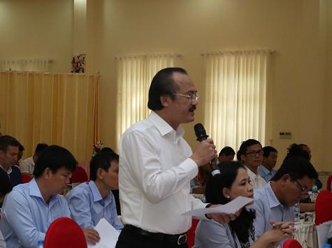 Phó Thủ tướng Trương Hòa Bình tiếp xúc cử tri doanh nghiệp Long An - Ảnh 3.