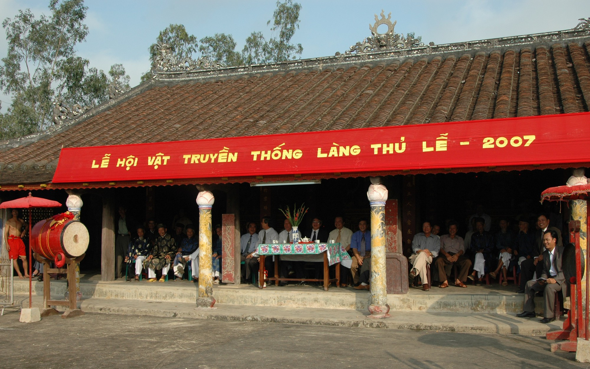 Thừa Thiên Huế: Hoàn thành tu bổ, tôn tạo Đình Thủ Lễ