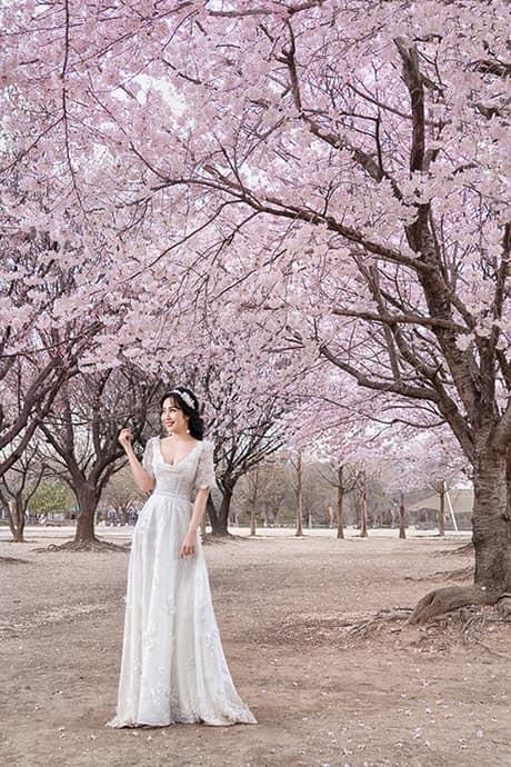 Ốc Thanh Vân khoe ảnh cưới chụp tại Hàn Quốc, vô tình để lộ hình xăm gợi cảm - Ảnh 7.