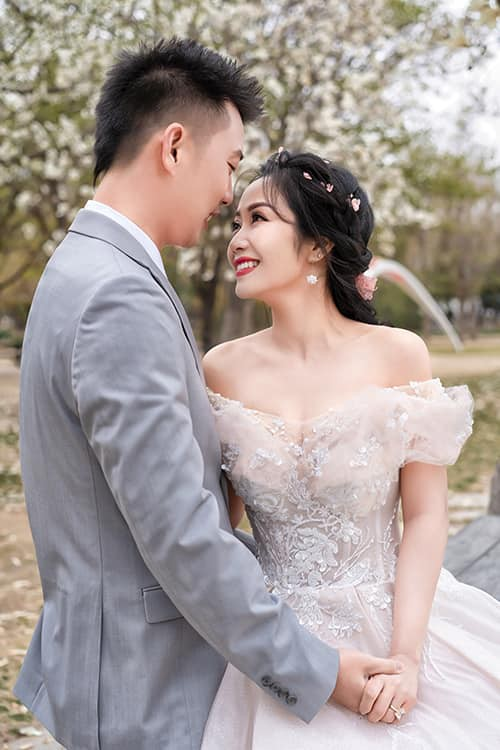 Ốc Thanh Vân khoe ảnh cưới chụp tại Hàn Quốc, vô tình để lộ hình xăm gợi cảm - Ảnh 11.
