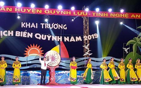 Khai trương du lịch biển Quỳnh 2019 với nhiều hoạt động nghệ thuật hấp dẫn