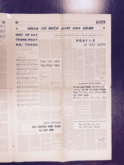 Tháng 4 lịch sử và bài hát Như có Bác trong ngày đại thắng ngân vang trong lòng người - Ảnh 2.