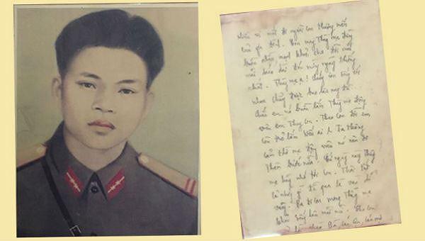 Linh thiêng bức thư người chiến sĩ 'gửi từ lòng đất'
