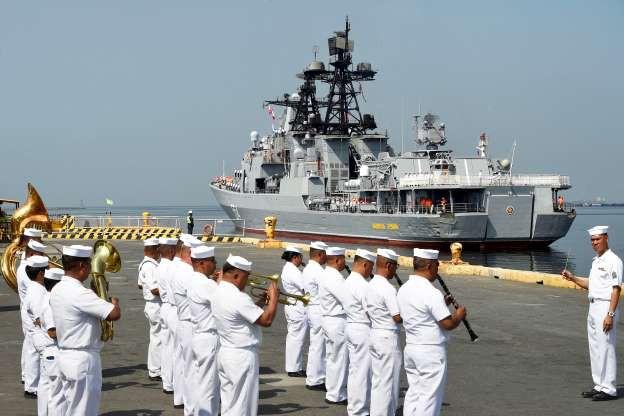 Cận cảnh loạt tàu chiến Nga tại cảng Philippines - Ảnh 2.