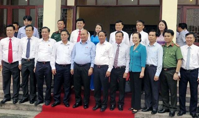Hình ảnh Thủ tướng Nguyễn Xuân Phúc tiếp xúc cử tri TP. Hải Phòng - Ảnh 8.