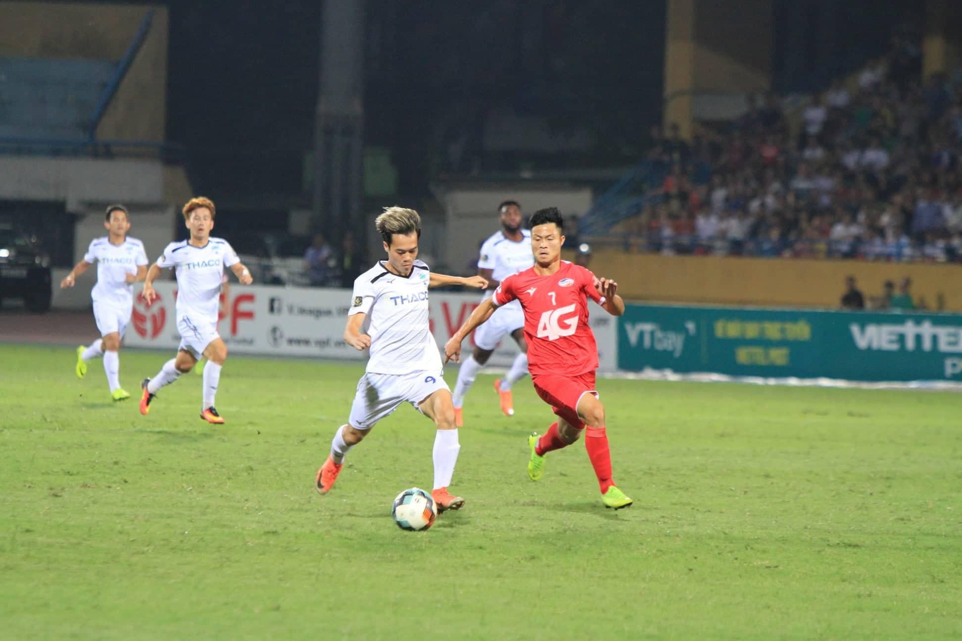 [Chùm ảnh] Văn Thanh nổ súng, HAGL đại thắng CLB Viettel trên sân khách - Ảnh 5.