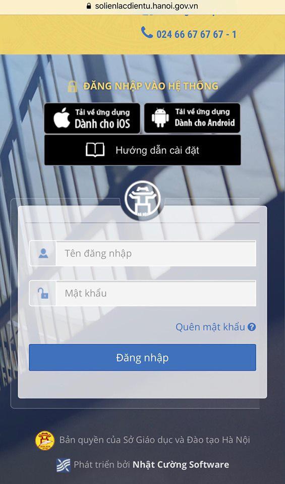 Sở Giáo dục và Đào tạo Hà Nội lên tiếng về phần mềm quản lý do Nhật Cường Mobile cung cấp: Chúng tôi chỉ thực hiện chỉ đạo của UBND Thành phố và Sở Thông tin và Truyền thông - Ảnh 1.