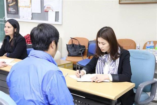Vận động lao động Việt Nam tại Hàn Quốc về nước đúng hạn - Ảnh 1.