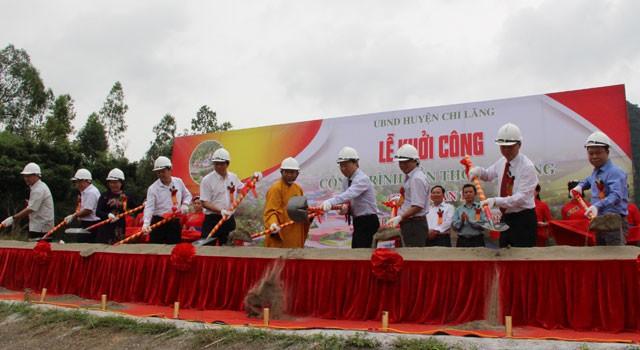 Lạng Sơn: Khởi công công trình Đền thờ Chi Lăng  - Ảnh 1.