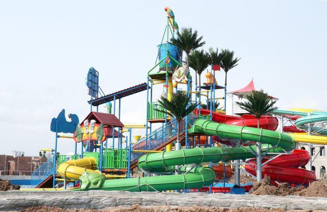 Ngày 10/6 sẽ khai trương công viên nước lớn nhất Hà Nội - Ảnh 2.
