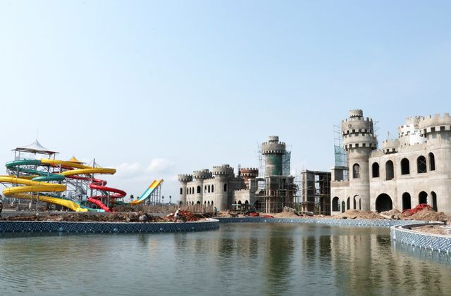 Ngày 10/6 sẽ khai trương công viên nước lớn nhất Hà Nội - Ảnh 1.