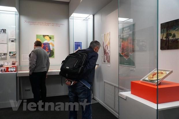 """Khai mạc Triển lãm tài liệu lịch sử """"Điểm đến-Việt Nam"""" tại Nga - Ảnh 4."""