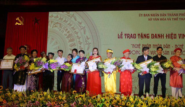 44 cá nhân được trao tặng và truy tặng danh hiệu Nghệ nhân nhân dân, Nghệ nhân ưu tú - Ảnh 2.