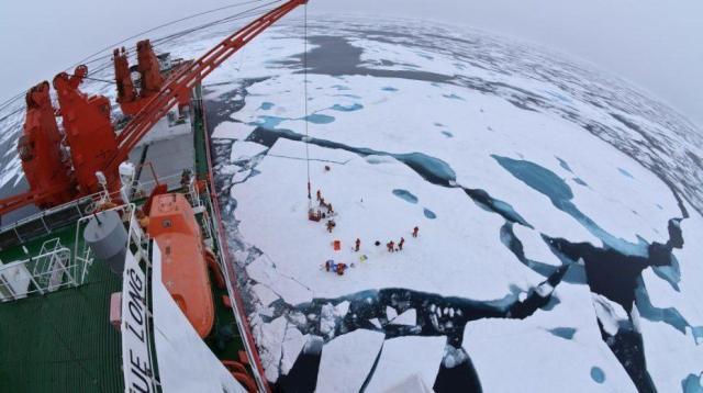 Nga, Trung nỗ lực hết mình cho Con đường tơ lụa vùng cực - Ảnh 1.